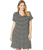 Plus Size Quinn V-Neck Pocket Dress