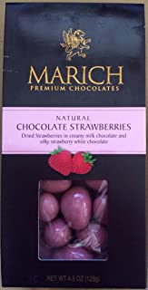 Marich Dark and White Chocolate Strawberries (4.25 ounce)