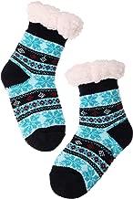 Boys Girls Slipper Socks Fuzzy Soft Warm Thick Heavy Fleece lined Christmas Stockings For Child Kid Toddler Winter Socks