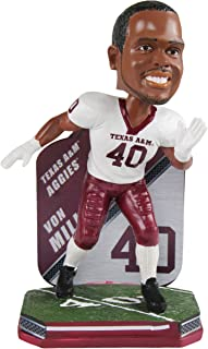Forever Collectibles Von Miller Texas A&M Aggies Special Edition College Football Name and Number Bobblehead - Denver Broncos