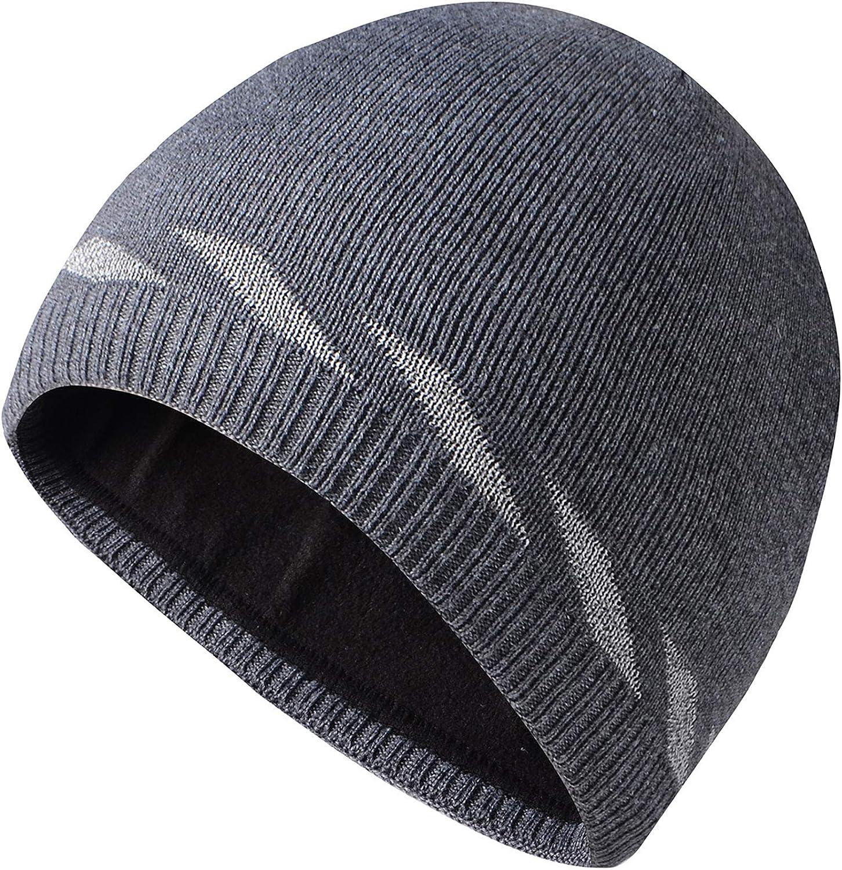 Shinenut Reflective Mens Winter Skull Beanie Watch National uniform free Los Angeles Mall shipping Hat Knit Warm