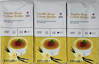 Archer Farms Vanilla Bean Creme Brulee Ground Coffee - (Pack of 3) - 12 oz Each - Light Roast Arabica Coffee
