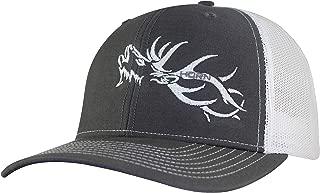 Horn Gear Trucker Hat - Hunting Hat Series - Elk Hat Edition - High Air-Flow Cooling Mesh Design