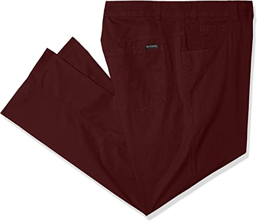 Columbia Hommes's Rapid Rivers Big & Tall Pant, Elderberry, 44x30