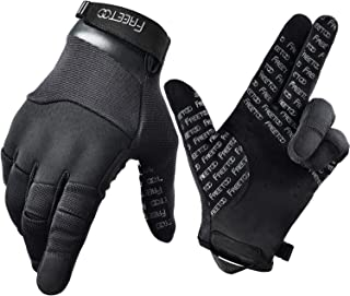 FREETOO Men Tactical Gloves Dexterous Shooting Gloves...