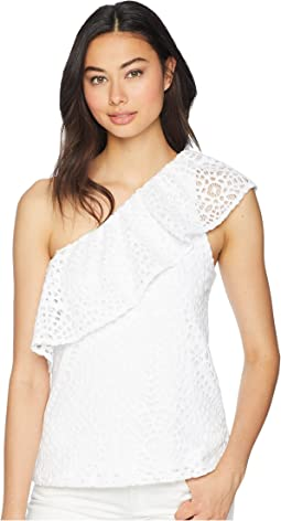 Resort White Sea Urchin Terry Lace