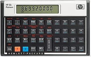HP F2231AA 12c Platinum Financial Calculator, 10-Digit LCD