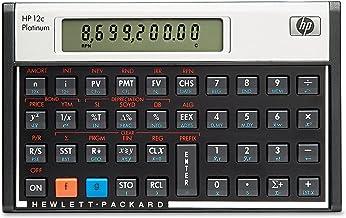 HP F2231AA 12c Platinum Financial Calculator, 10-Digit LCD photo