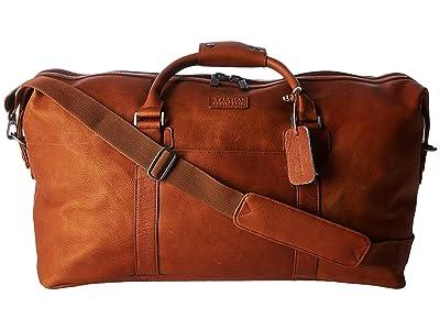 Kenneth Cole Reaction Colombian Leather 20 Duffel (Cognac) Duffel Bags