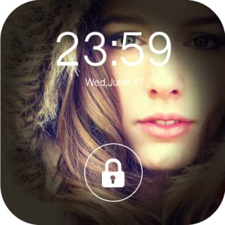 Little Girl Lock Screen : Cute Pink Screen Lock