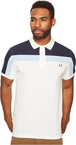 Fred Perry Colour Block Panel Pique Shirt
