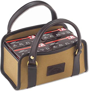 Galco Canvas and Leather Four Box Shell Carrier
