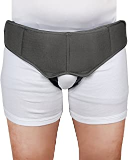 Healthnode(TM) Inguinal Hernia Support Belt/Hernia Belt Support Truss with Special Foam Pads - Superior Comfort and Adjustable Pressure by HealthNode (Small)