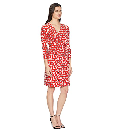 Faux Dress Klein Wrap Anne Floral qEUzna
