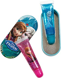 Disney Lip Gloss with Tin (2 Lip Glosses) 2-Pack