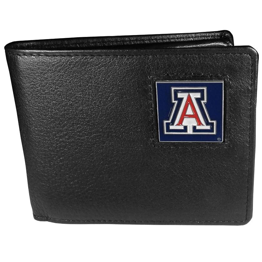 頬いまナイトスポットNCAAアリゾナワイルドキャッツレザー二つ折り財布