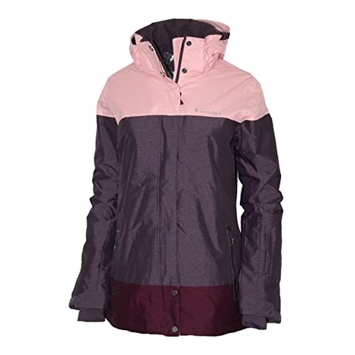 Columbia Women s Snowshoe Mountain Omni Heat Waterproof Hooded Ski Jacket ac659d0ef