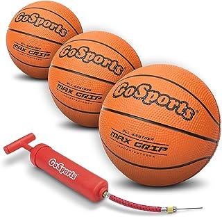 "GoSports 7 ""Mini Basketball 3 Pack با پمپ پریمیوم - ایده آل برای مینی هوپ ها یا آموزش"