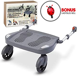 Ride Along - Universal Mount Ride-On Stroller Board Toddler Bump-Free Anti-Slip Buggy Stand