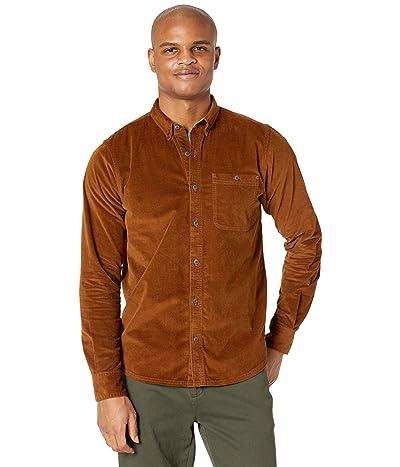 Toad&Co Cruiser Cord Long Sleeve Shirt (Brown Sugar) Men