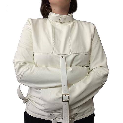 Snap hooks style straight jacket straitjacket strait straightjacket Halloween