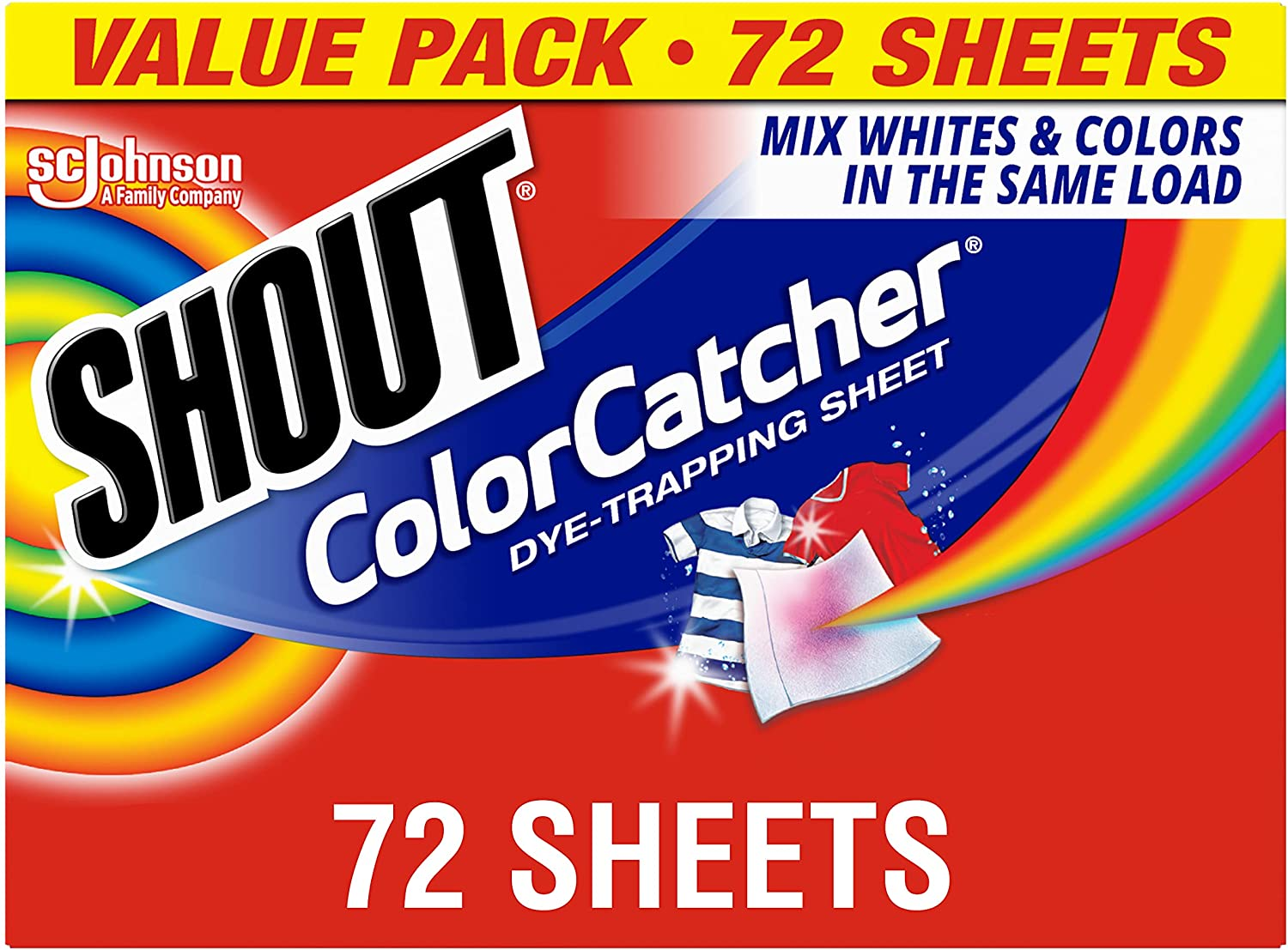 Shout Color Catcher Sheets for Clothes Max 47% OFF Maintains Laundry Origin Colorado Springs Mall