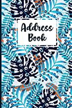 Address Book: Address logbook with alphabetical Names, Addresses, Birthday, Phone, Work, Email and Notes with 6 x 9 inch f...