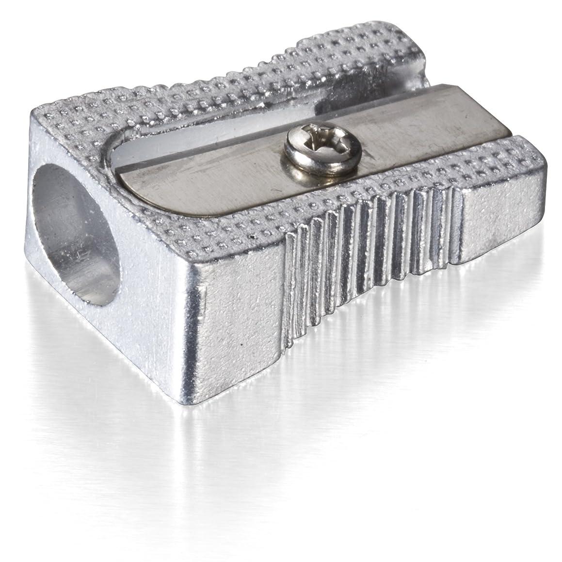 OfficemateOIC Achieva Aluminum Pencil Sharpener, Silver, Pack of 12 (30233)
