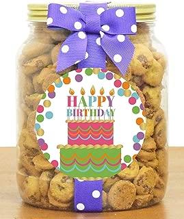 Nam's Bits Chocolate Chip Cookies - Birthday Half Gallon Jar (CAKE)