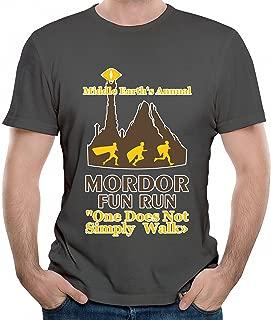 Mordor Fun Run Graphic Men T Shirt Short Sleeve Shirt