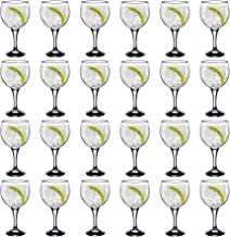 Rink Drink Spanish Gin & Tonic Cocktail Glasses - 645ml (22.7oz) Party Pack of 24 Balloon Glasses