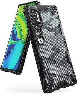 جراب شفاف من رينجكي مقاوم للصدمات لهاتف شاومي مي نوت 10 (Xiaomi Mi Note 10)- متعدد الالوان