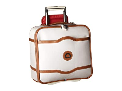 Delsey Chatelet Soft Air 2-Wheel Under-Seater (Champagne) Carry on Luggage