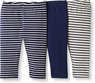 Baby/Toddler Girls' 3-Pack Organic Cotton Legging