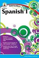 Carson Dellosa   Skill Builders Spanish I Workbook   Grades 6–8, Printable