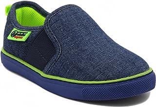 Naturino Express Neri Slip On Shoe with Twin Elastic Gore