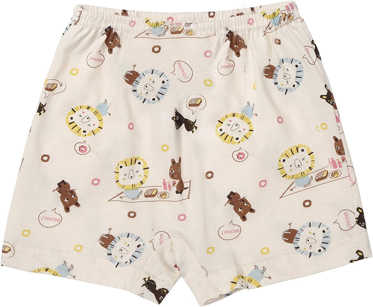 WithOrganic Boxer Shorts Underwear for Boys and Girls - 100% Certified Organic Cotton