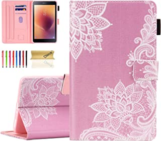 """Dteck 8.0"""" Smart Case for Samsung Galaxy Tab A 8.0 Inch 2017 Release (SM-T380/ SM-T385) - Flip PU Leather Nice Stand Prote..."""