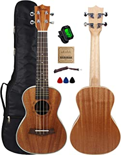 tenor ukulele with pickup