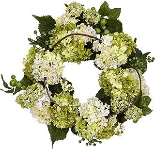 nearly natural hydrangea wreath