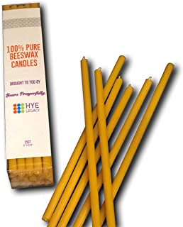 Hye Legacy 100% All Natural Pure Beeswax Candles with Honey Scent and Cotton Wick, from The Armenian Highlands, 8