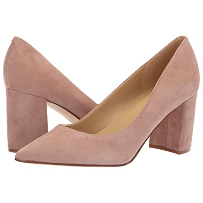 Marc Fisher Claire (Blush New Silky Suede) High Heels