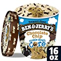 Ben & Jerry's Ice Cream Chocolate Chip Cookie Dough Core, 16 oz (frozen)