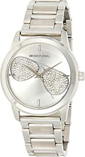 Michael Kors Womens Quartz Watch, Analog Display and Stainless Steel Strap MK3672