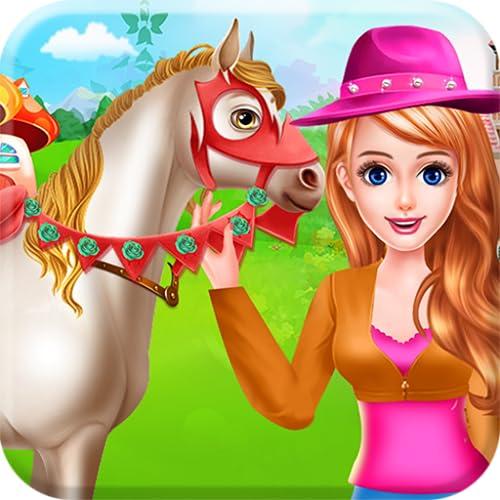 Pferdepflege und Reiten Liebe für Tiere  - Ein Spiel, um Ihre Liebe zu Tieren zu zeigen und sich um Ihr Haustier zu kümmern