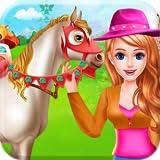 Cura del cavallo e equitazione Amore per animali - Un gioco per mostrare il tuo amore per gli animali e prendersi cura del tuo cavallo da compagnia
