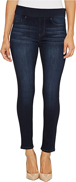 Petite Sienna Pull-On Ankle Silky Soft Denim in Dynasty Dark