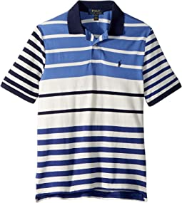 Featherweight Cotton Mesh Polo (Big Kids)