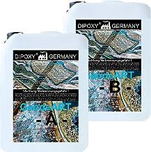 15 kg epoxyhars + verharder DIOPXY-2K-4000GeodeART 2K EP professionele kwaliteit glashelder, geurarme giethars, epoxy Wave...