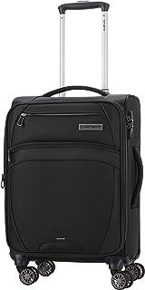 Samsonite Sam Zira 56 cm Hardside Travel Luggage With Sppiner Wheel for Unisex, Black